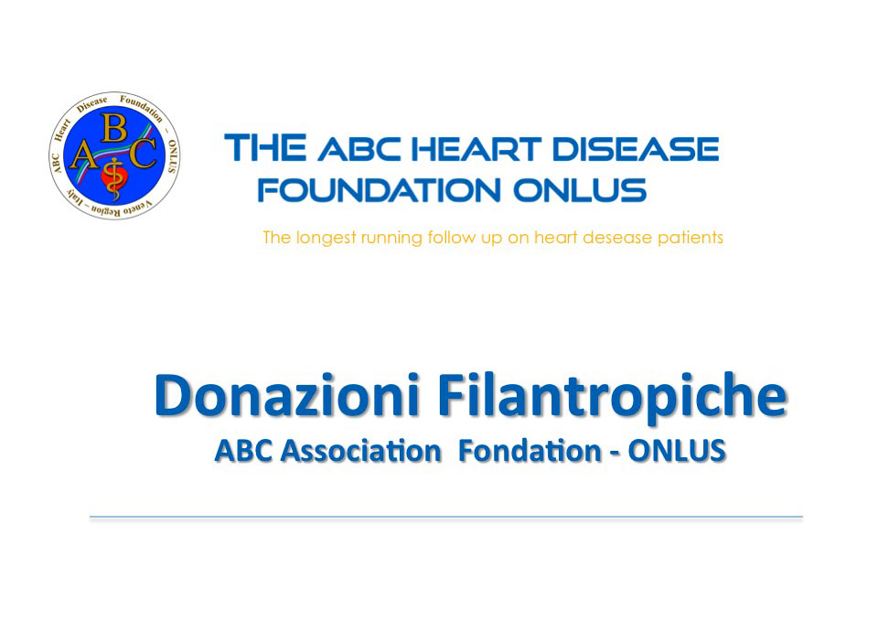 Donazioni filantropiche ABC Association Foundation ONLUS