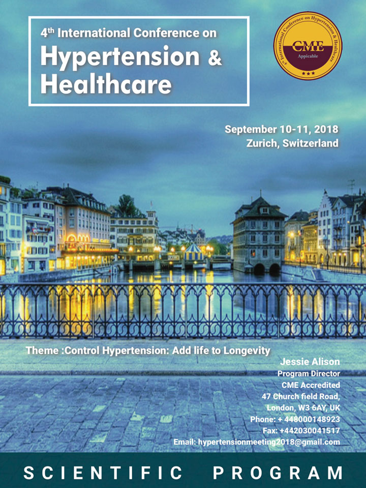 Hypertension & Healthcare | Zurich 2018